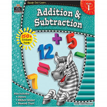 TCR5950 - Ready Set Learn Grade 1 Addition & Subtraction in Addition & Subtraction