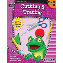 TCR5955 - Ready Set Learn Cutting & Tracing Gr Pk-K in Tracing