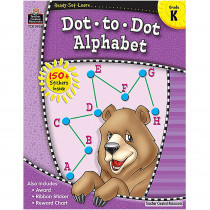 TCR5956 - Ready Set Learn Dot A Dot Alphabet in Letter Recognition