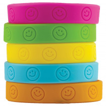 TCR6550 - Happy Faces Wristbands in Novelty