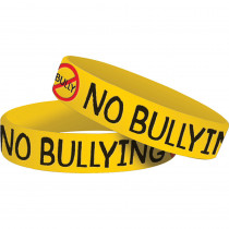 TCR6580 - No Bullying Wristbands 10 Pk in Novelty