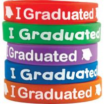TCR6581 - I Graduated Wristbands in Novelty