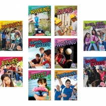 TCR697961 - Social Skills Books Set Of All 10 in Character Education