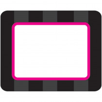 TCR70166 - Black Sassy Labels in Name Tags