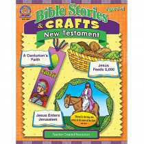TCR7059 - Bible Stories & Crafts New Testament in Inspirational