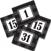 TCR72332 - Sassy Solids Double Sided Calendar Cards Black in Calendars