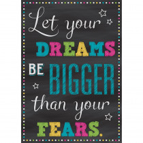TCR7405 - Let Your Dreams Positive Poster in Inspirational