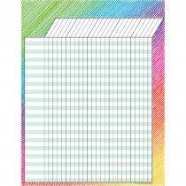 TCR7526 - Colorful Scribble Incentive Chart in Incentive Charts