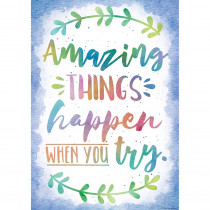TCR7559 - Things Happen When You Try Chart Amazing in Motivational