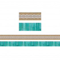 TCR77169 - Shabby Chic Double-Sided Border in Border/trimmer