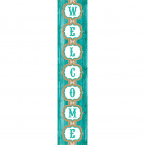 TCR77197 - Shabby Chic Welcome Banner in Banners