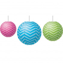 TCR77226 - Chevron Paper Lanterns in Art & Craft Kits
