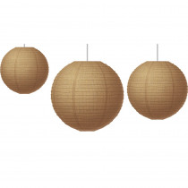 TCR77228 - Burlap Paper Lanterns in Art & Craft Kits