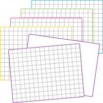 Double-Sided Math Grid Dry Erase Boards, Pack of 10 - TCR77253 | Teacher Created Resources | Dry Erase Boards