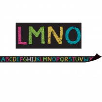 TCR77262 - Chalkboard Brights Alphabet Magnetic Strips in Border/trimmer