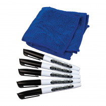 TCR77268 - Dry Erase Pens & Microfiber Towels in Whiteboard Accessories