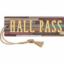 TCR77357 - Home Sweet Classroom Magn Hall Pass in Hall Passes