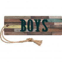 TCR77358 - Home Sweet Classroom Magn Boys Pass in Hall Passes