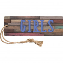 TCR77359 - Home Sweet Classrm Magn Girls Pass in Hall Passes
