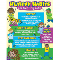 TCR7736 - Healthy Habits For Healthy Kids Chart in Science