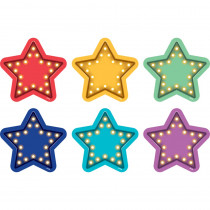 TCR77378 - Marquee Stars Vinyl Floor Markers Spot On in Classroom Management