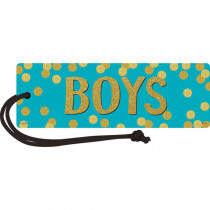 TCR77395 - Confetti Magnetic Boys Pass in Hall Passes