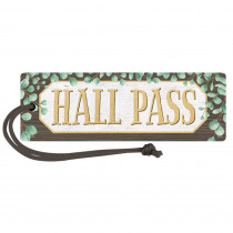 Eucalyptus Magnetic Hall Pass - TCR77473 | Teacher Created Resources | Hall Passes