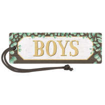 Eucalyptus Magnetic Boys Pass - TCR77475 | Teacher Created Resources | Hall Passes