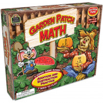TCR7808 - Garden Patch Math Game in Math
