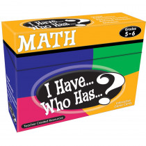 TCR7834 - I Have Who Has Math Gr 5-6 in Math