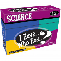 TCR7857 - I Have Who Has Science Gr 3-4 in Science