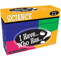 TCR7859 - I Have Who Has Science Gr 5-6 in Science