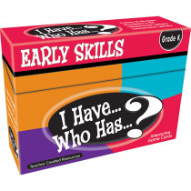 TCR7860 - I Have Who Has Early Skills Game in Games