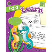 TCR8003 - 1 2 3 Learn Age 4-5 in Language Arts