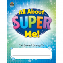 TCR8004 - All About Super Me Journal in Handwriting Paper