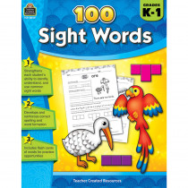 TCR8049 - 100 Sight Words Gr K-1 in Sight Words