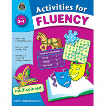 TCR8051 - Activities For Fluency Gr 3-4 in Activities