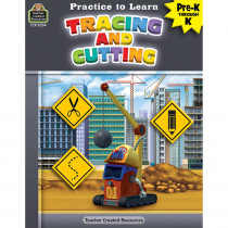 Practice to Learn: Cutting and Tracing - TCR8304 | Teacher Created Resources | Resources