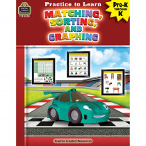 Practice to Learn: Matching, Sorting and Graphing - TCR8308 | Teacher Created Resources | Sorting