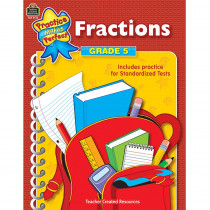 TCR8615 - Fractions Gr 5 Practice Makes Perfect in Fractions & Decimals