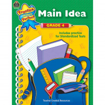 TCR8644 - Main Idea Gr 4 Practice Makes Perfect in Language Arts