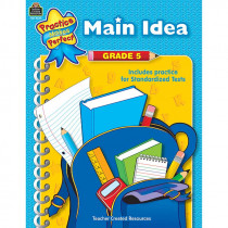 TCR8645 - Main Idea Gr 5 Practice Makes Perfect in Language Arts