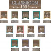TCR8801 - Classroom Jobs Mini Bb St Home Sweet Classroom in Classroom Theme