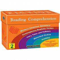 TCR8872 - Fiction Reading Comprehension Cards Gr 2 in Comprehension