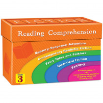 TCR8873 - Fiction Reading Comprehension Cards Gr 3 in Comprehension