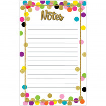 TCR8893 - Confetti Notepad in Note Pads