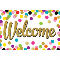 TCR8894 - Confetti Welcome Postcards in Postcards & Pads