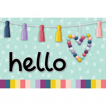 Oh Happy Day Hello Postcards, Pack of 30 - TCR9056 | Teacher Created Resources | Postcards & Pads