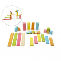 TEG24PTNT306T - 24 Piece Tints Set in Blocks & Construction Play