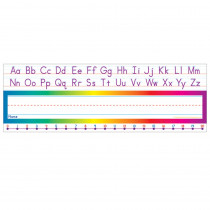 TF-1528 - Alphabet-Number Line Standard Name Plates in Name Plates